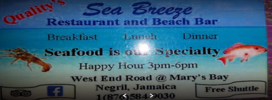 Quality Seabreeze Restaurant